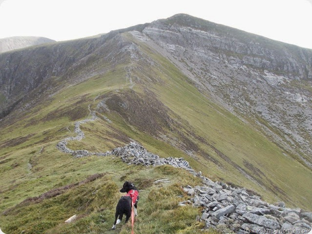 on the way to hopegill head