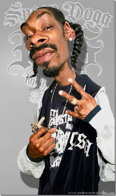 Caricatura Snoop Dogg