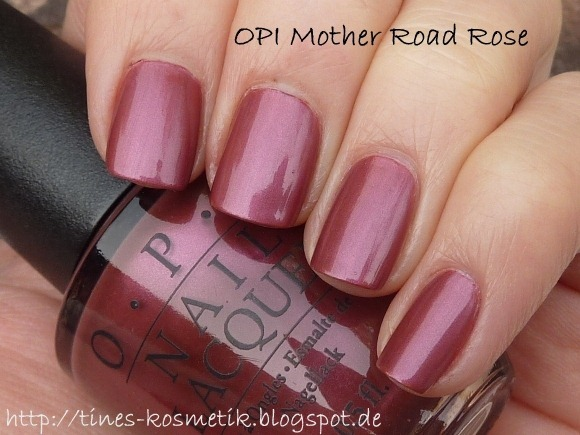 OPI Mother Road Rose 2