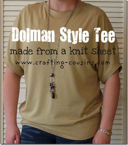 dolman tee text