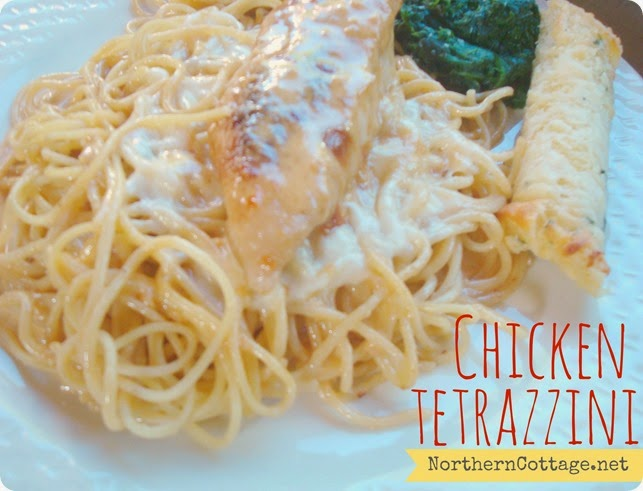 Homemade Chicken Tetrazzini {NORTHERN COTTAGE}