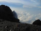On Merapi crater rim (Dan Quinn, December 2012)