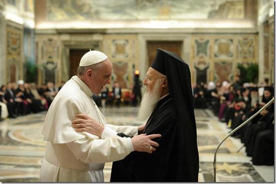 Encuentro con los delegados de las Iglesias y religiones 6