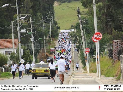 media maraton de guatavita 2011
