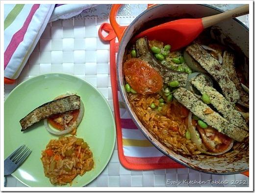 Vegetable & Risoni Bake 1