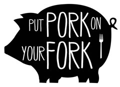 Image result for pig with a fork