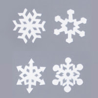 Snowflake Sticker Set for Windows