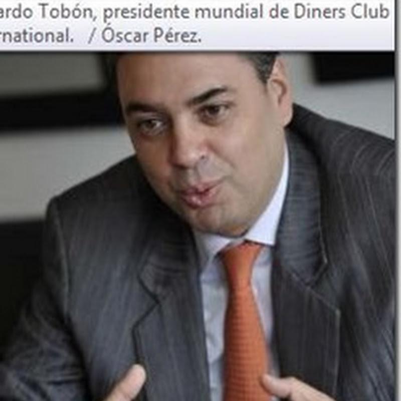 El colombiano que dirige Diners Club
