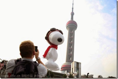Snoopy Shanghai Balloon 05 (via Chinadaily)
