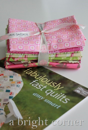 Fabulously Fast Quilts - a book by Amy Smart