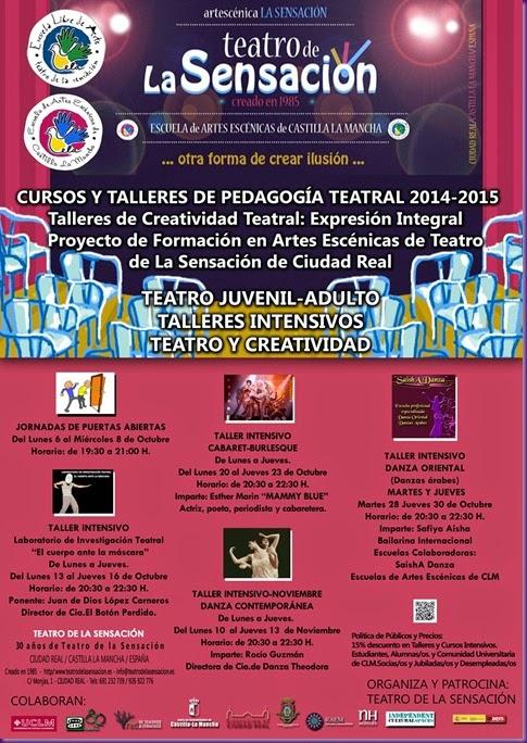 CURSOS Y TALLERES ADULTO  2014-2015-