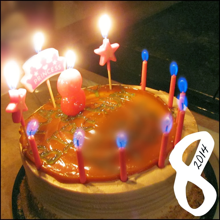 8th bday cake mhg