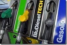 Un distributore di carburanti