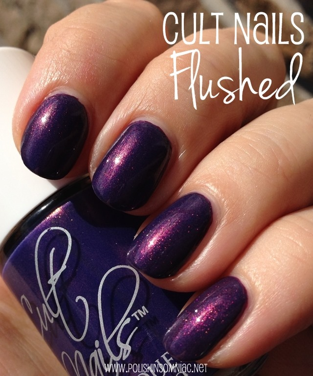 Cult Nails Flushed nail polish