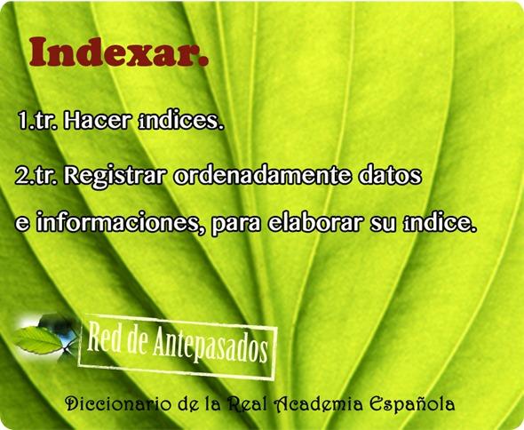 indexar
