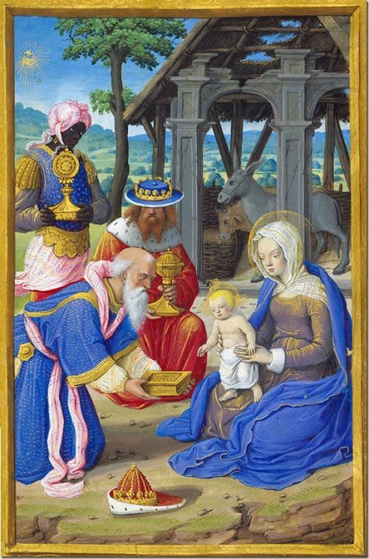 Jean Poyer, Adoration des rois mages 1500