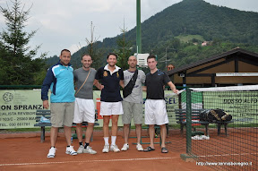 Foto di gruppo chiusura torneo sociale.