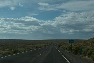 leaving Oregon, into Nevada