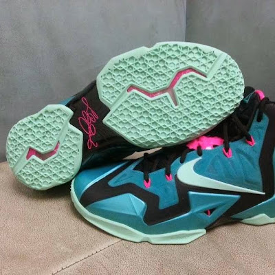 nike lebron 11 gr south beach 1 05 Nike LeBron XI Gets a South Beach Treatment