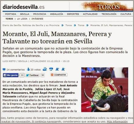 2013-12-12 Comunicado Diario de Sevilla