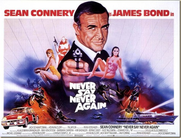 Affiche cinéma de James Bond (31)