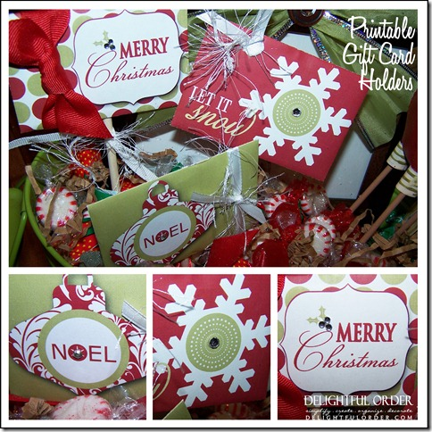 printable gift card holder gift ideas