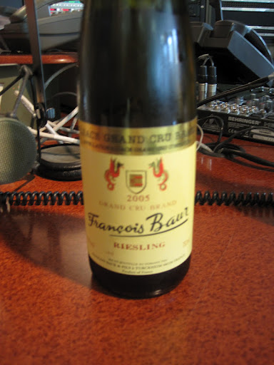 Francois Baur Riesling from Alsace, France.