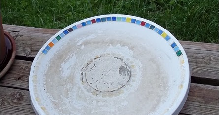 Creative Passage: Epic Fail…Mosaic Bird Bath