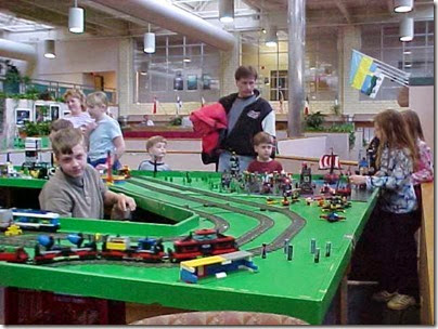 MVC-506S Lego Layout at TrainTime 2000