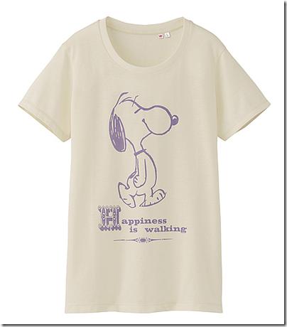 Uniqlo X Snoopy Tee - Woman 02