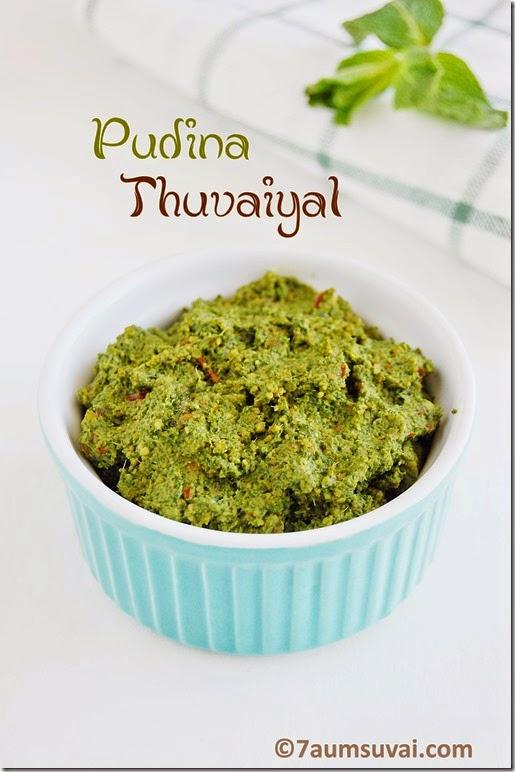 Pudina thuvaiyal