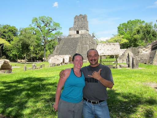 Luis was such a great tour guide - if you ever go to Tikal, look for this guy!