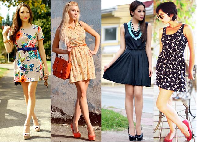modelo de vestido curto