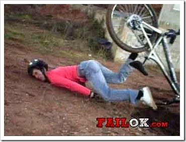 Funny Fail - Bicycle Accident.