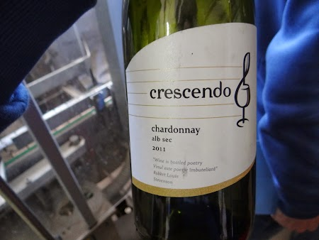 Drumul vinului -Basarabia: Vinul Crescendo de Nisporeni