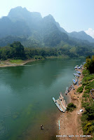 Karstberge rund um Nong Kiao