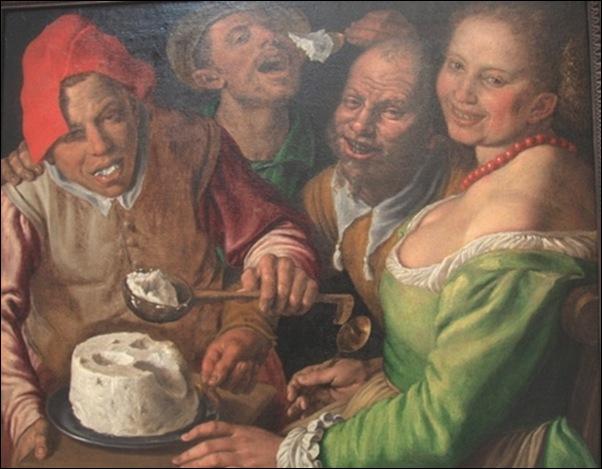 Vincenzo Campi, Les mangeurs de ricotta
