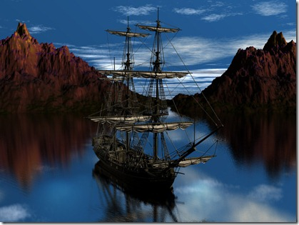 Old_Pirate_Ship_by_thedigitalcrayon