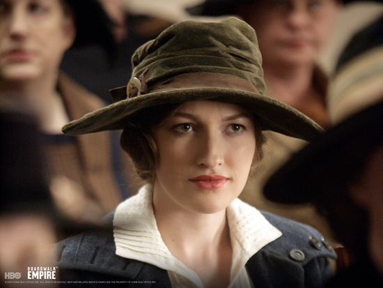 Boardwalk Empire-Kelly Macdonald is Margaret Schroeder