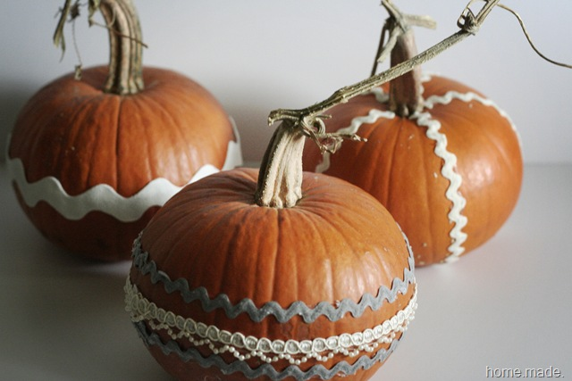 ric rac pumpkins