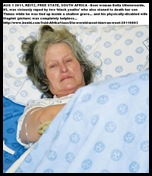 UITENWEERDE Mrs Magriet disabled woman RAPED husband Thinus gruesome murder Aug12011