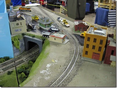 IMG_5360 Town Scene on the LK&R HO-Scale Layout at the WGH Show in Portland, OR on February 17, 2007