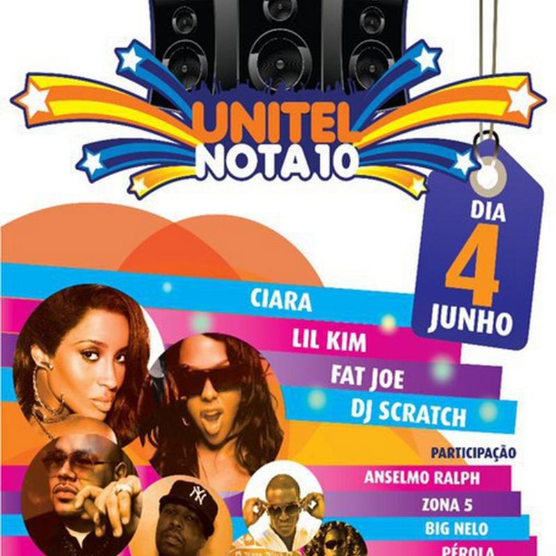 Show Unitel 10 – C/ Grandes Estrelas Nacionais e Internacionais