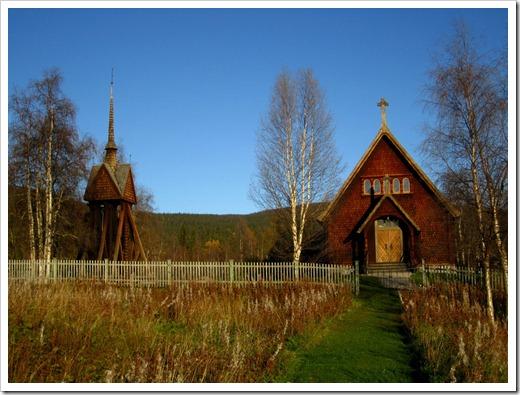 Jag passade på att ta en titt på den fina kyrkan.