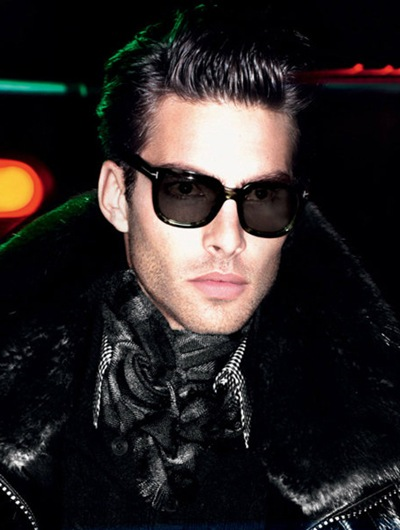 Jon Kortajarena by Mert & Marcus for Tom Ford F/W 2011-12 (detail)