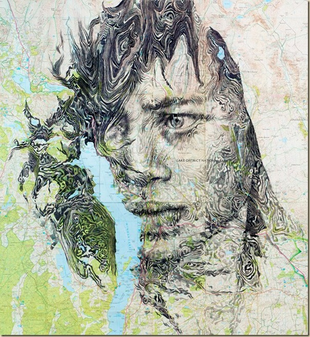 Portraits dessinés sur les cartes par Ed Fairburn (7)