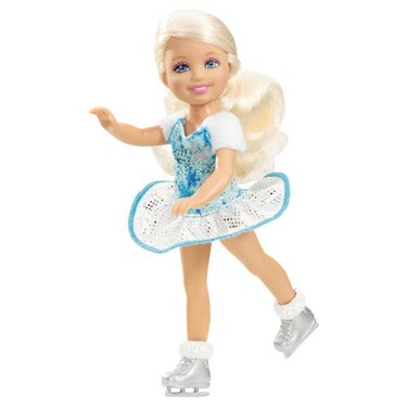 Barbie Chelsea A Perfect Christmas Doll Ice Skating