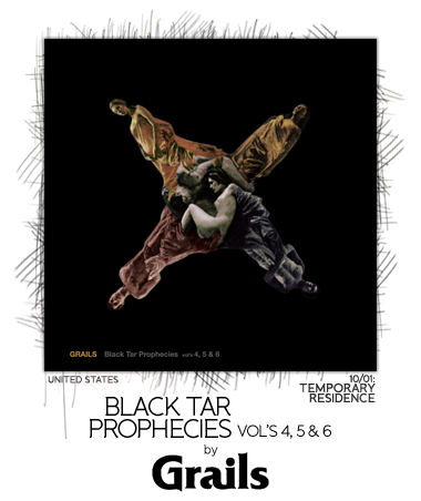 Black Tar Prophecies Vols 4, 5 & 6 by Grails
