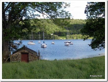 Lake Coniston sailing club.