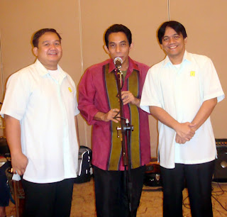 Sir Ervin, Cultural Music Icon Joey Ayala and Sir Jojo Esposa